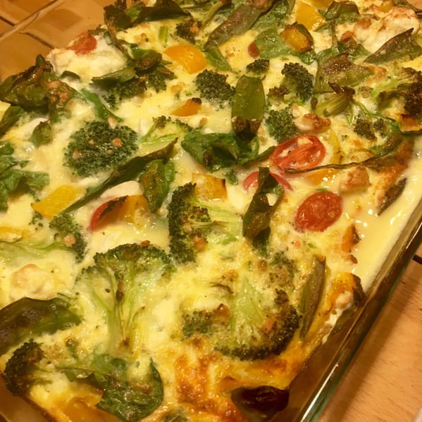 Healthy Frittata by Fit & Happy Personal Training