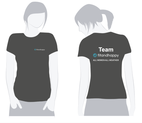 TEAM fitandhappy: T-Shirt
