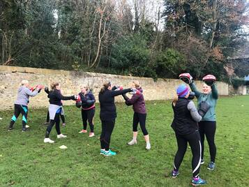 fitandhappy women's boot camp in Edinburgh Blackhall