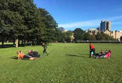Boot camp for women Edinburgh Meadows